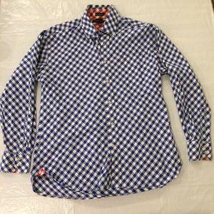 Tommy Hilfiger Checkered Button Down Shirt Men's L